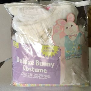 Adult Standard Deluxe Bunny Costume 7 Pieces New
